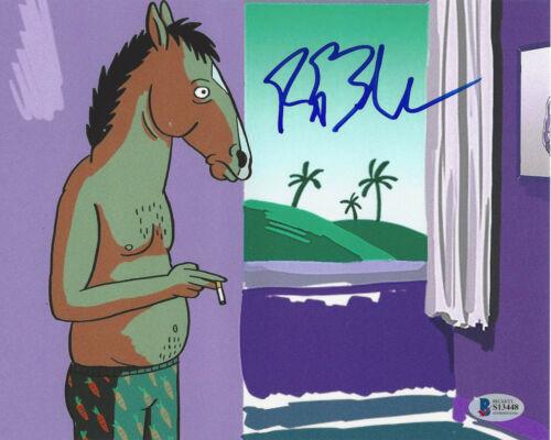 RAPHAEL BOB-WAKSBERG BOJACK HORSEMAN CREATOR SIGNED 8X10 PHOTO PROOF BECKETT COA