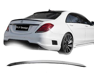 Mercedes S400 S 500 L S 63 AMG Tuning S600 320 Heckspoilerlippe Spoiler Body kit