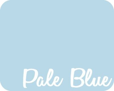 20 X 5 Yards - Stahls Flock Ii Heat Transfer Vinyl Htv - Pale Blue