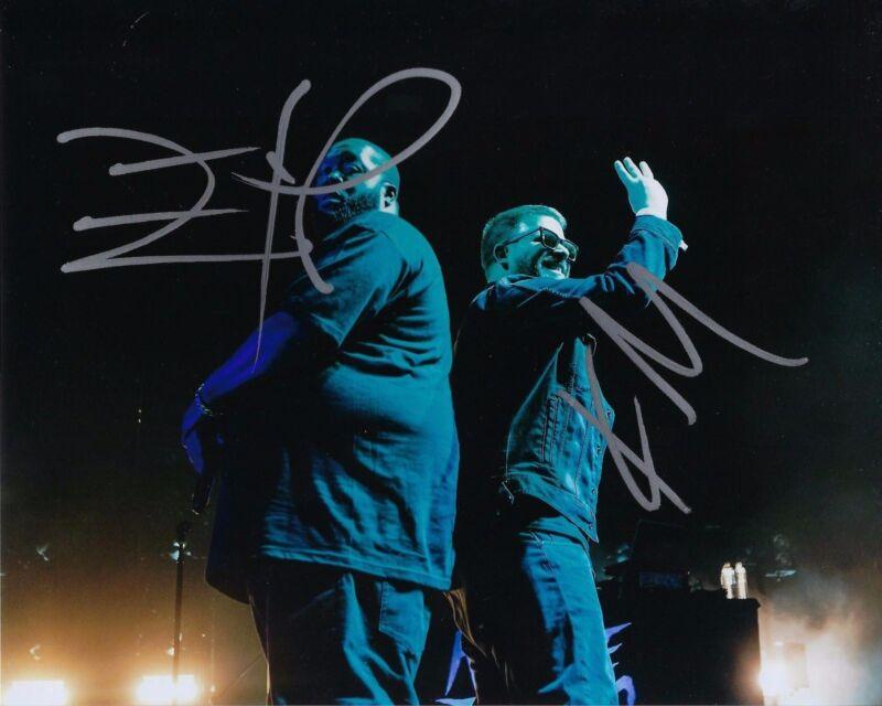 Signed Autograph 8x10 Photo Ad9 Coa Run The Jewels Gfa El-p And Killer Mike