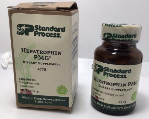 Standard Process Hepatropin PMG 90 Tablets Exp. 06/19/22 New Sealed