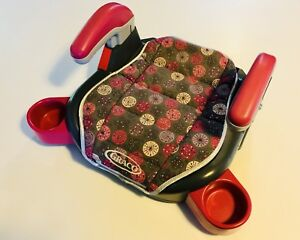 Girl's Graco Car Booster Seat