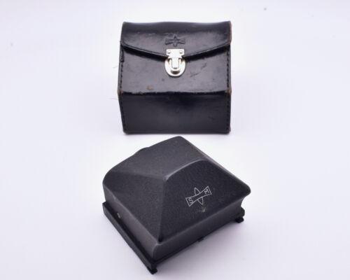 Mamiya Eye Level Prism Finder & Case for C220 & C330 TLR Film Cameras  (#8832)