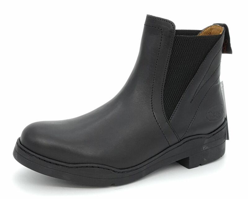 Regent Black Leather Jodhpur Pull ON Mens Riding Boots 8 9 10