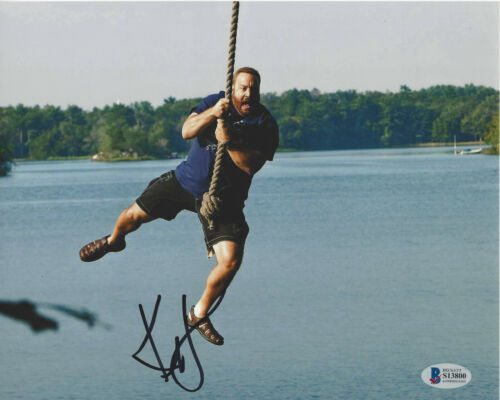 KEVIN JAMES SIGNED AUTHENTIC GROWN UPS 8X10 PHOTO ACTOR BECKETT COA BAS