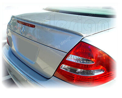 Mercedes Benz w 211 e klasse cdi Heck amg Autospoiler aileron lèvre spoilerlippe
