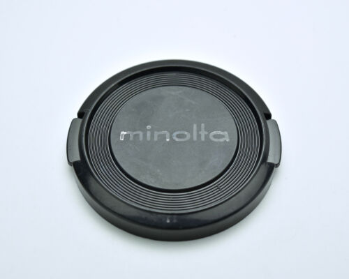 Genuine Minolta MD & MC 49mm Front Lens Cap Snap-On  (#3221)