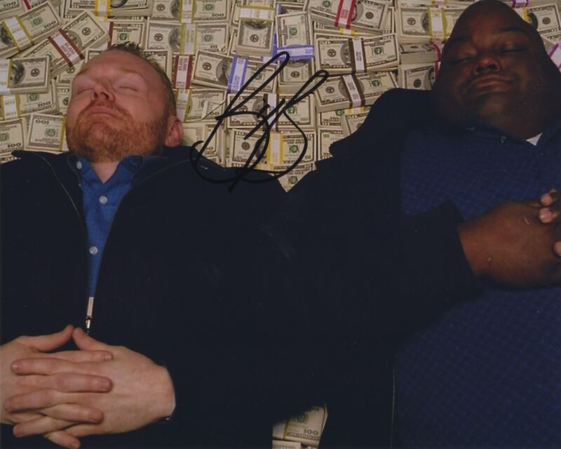 BILL BURR SIGNED BREAKING BAD 8X10 PHOTO