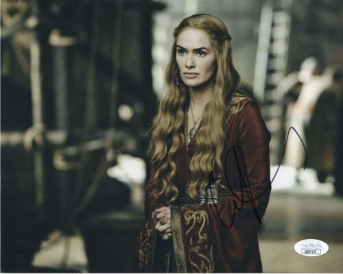 Lena Headey Game of Thrones Autographed Signed 8x10 Photo JSA COA