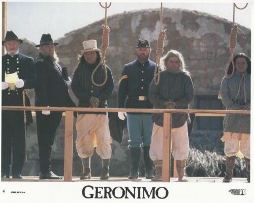 Geronimo Original 8x10 Lobby Card Poster Photo 1993 #4 Patrick Hackman Duvall