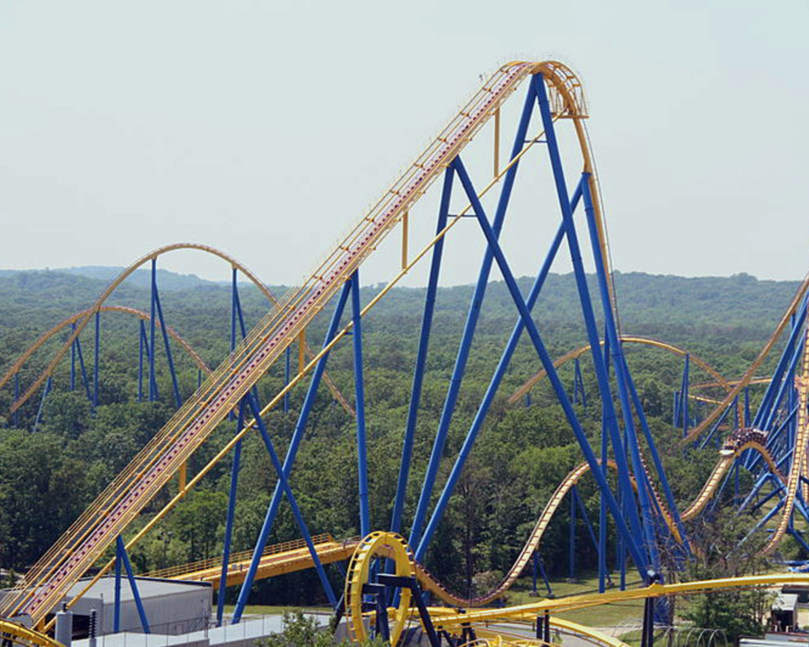 top 10 steel roller coasters ebay