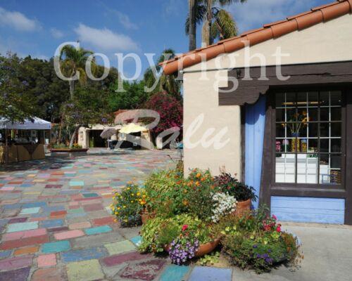 Spanish Village San Diego California 11x14 Matted Original Photography Photo