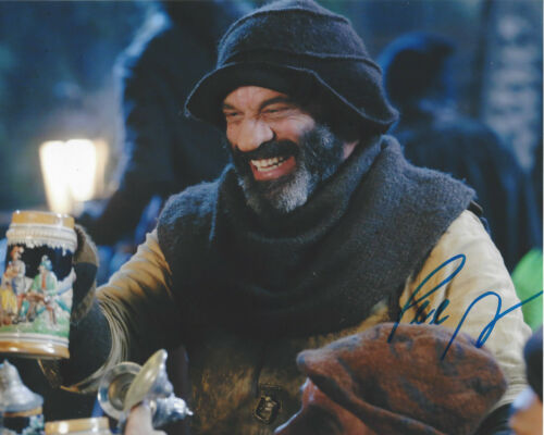 LEE ARENBERG SIGNED AUTHENTIC 'ONCE UPON A TIME' 8x10 PHOTO 2 w/COA ACTOR