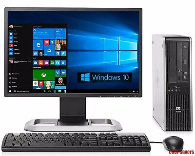 "HP Compaq Desktop PC Intel Core i3 3.20GHz Win 10 Pro 8GB RAM 500GB HDD 19"" LCD segunda mano  Embacar hacia Mexico"
