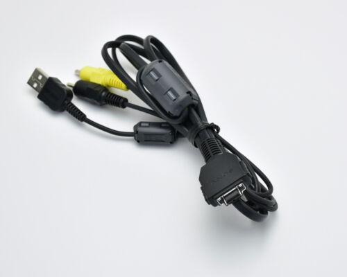 Genuine Sony Cyber-Shot DSC-W90 AV USB Cable 5ft 2m (#3148)