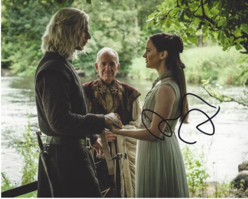 AISLING FRANCIOSI SIGNED THE FALL 8x10 PHOTO C w/COA GAME OF THRONES NIGHTINGALE