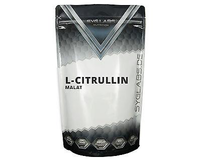SygLabs L-Citrullin Malat Pulver - 1000g Citrulline Citrullin Pulver