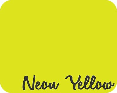 12 X 5 Yards 15 Feet - Stahls Clearance Fashion-lite Htv - Neon Yellow