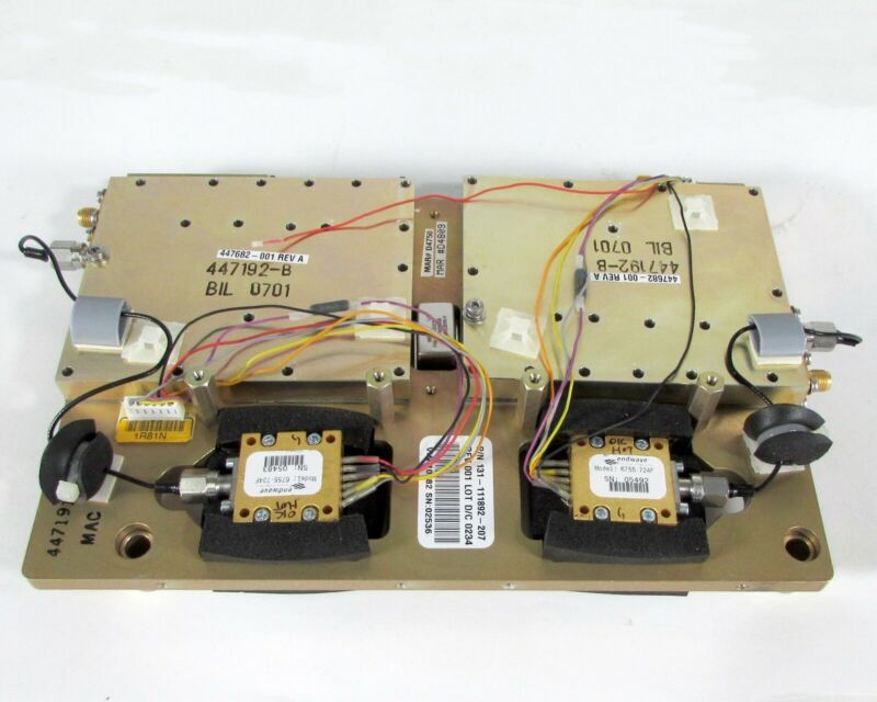 Endwave 6755-724F & 6755-724F YIG Oscillator Assembly