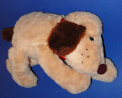 Vtg Princess Soft Toys Plush Puppy Dog Cream Tan Brown Long Legs Stuffed Animal