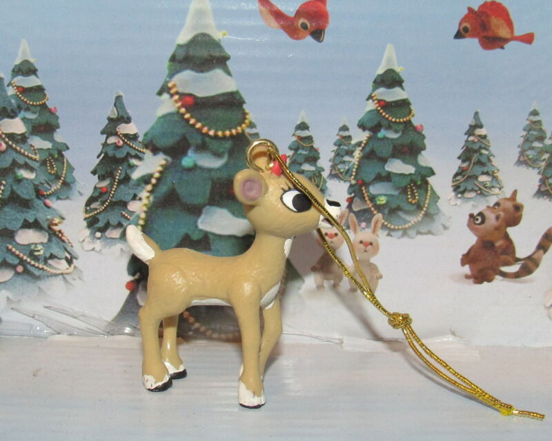 Rudolph The Red Nose Reindeer Misfit Christmas Ornament Clarice