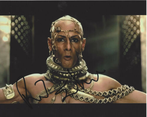 RODRIGO SANTORO SIGNED AUTHENTIC 300 'XERXES' 8X10 PHOTO B w/COA ACTOR WESTWORLD
