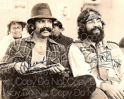Cheech and Chong signed 8X10 photo picture signed autograph RP