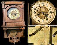 Jugendstil Art Deco Wanduhr Regulator Kienzle Uhrwerk 125605 Uhr Sachsen-Anhalt - Gommern Vorschau