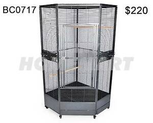 Extra Large 163CM Premium Corner Parrot Aviary Bird Cage On Wheel Derrimut Brimbank Area Preview
