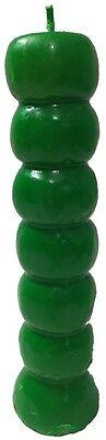 Green Seven Knob Candle (7 Day Candle Magic, Ritual, Wishing Candle)