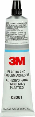 1 tube 3M 8061  Adhesive Glue Security Craft Plastic Emblem 4475 Replacement