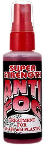 Super Strength Anti-Fog Spray For Glasses, Goggles & Face Shields 2oz Bottle