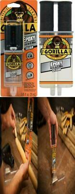 Gorilla 2 Part Epoxy 5 Minute Set .85 Ounce Syringe Clear