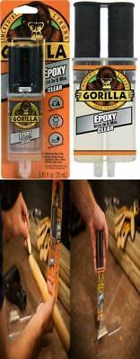 Gorilla 2 Part Epoxy 5 Minute Set .85 Ounce Syringe Clear