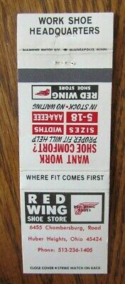 CLOTHING STORE: RED WING SHOE STORE (HUBER HEIGHTS, OHIO) -G23 Paper Wings Clothing