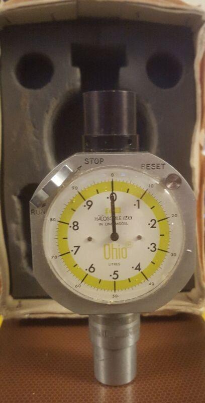 Ohio Wright Respirometer Anesthesia Medical Surgical Vintage