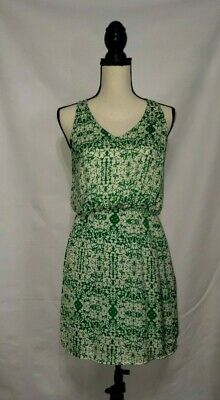 Pixley Dress Abstract Green Womens XS St. Patricks Day Fun - St Patricks Dress