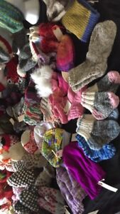 Remains of craft sale all hand knitted