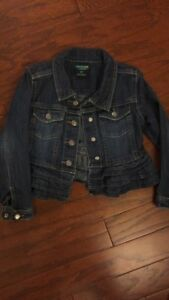 Girls OshKosh jean jacket 5T