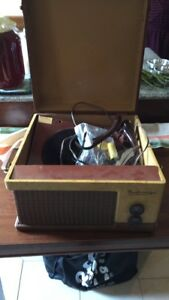 Vintage Portable Record Player