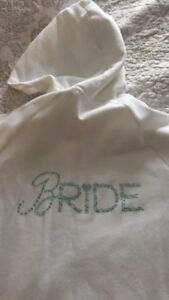 Victoria secret bride hoodie size small
