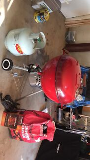 Weber in red one of a kind
