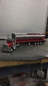 Wallensrein feed dcp pete tractor trailer.
