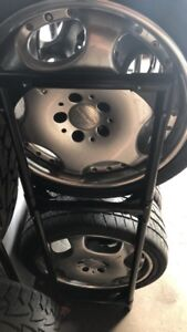 Carlsson two piece wheel 18' with good tyres