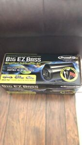 Bazooka BIG EZ BASS amplified Subwoofer kit brand new