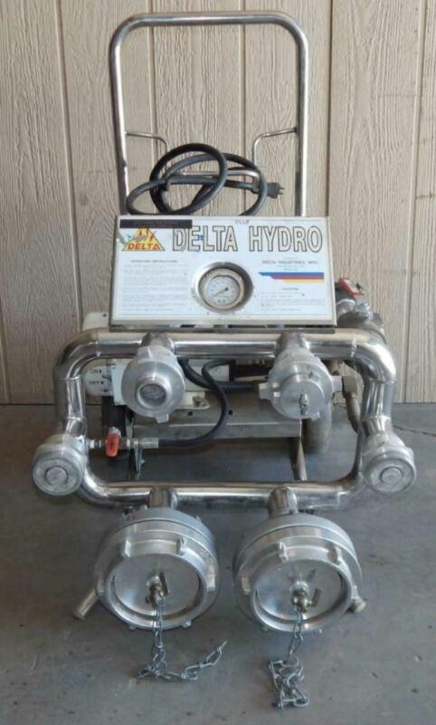DELTA HYDRO FIRE HOSE / PUMP TESTER  (#3211)