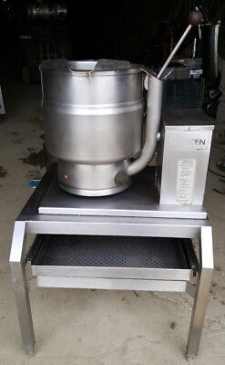 Groen Tbd7-20 Tilting Steam Jacketed Kettle On Stand 20 Qt Soup Electric