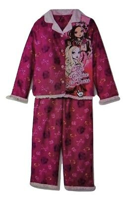 Ever After High Girls 2 Piece Long Sleeve Button Down Pajamas](Ever After High Girls)