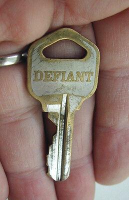 Lock Brass Key Blank - Used Original Defiant Kwikset Door Lock Entrance Brass Key # 64212 KW1 Blank