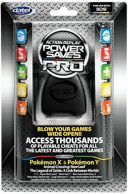 New Datel Action Replay For Nintendo 3Ds 2Ds Power Saves Pro Cheat Codes   New